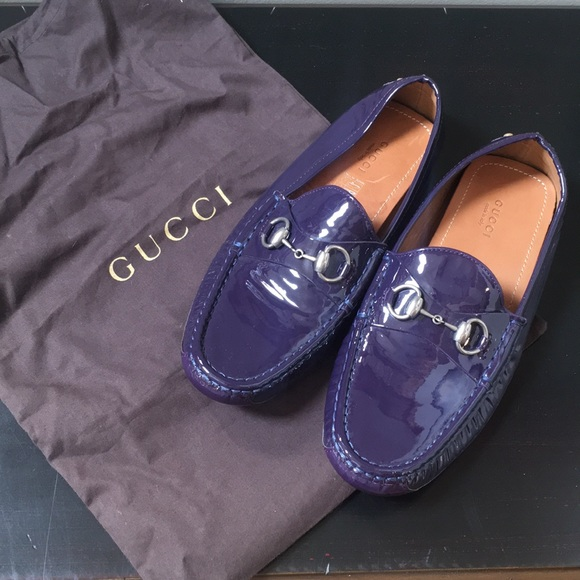 442316359 Gucci Shoes | Horsebit Patent Leather Loafers | Poshmark
